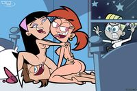 cartoon porn dlt fairly oddparents timmy turner trixie tang veronica star vicky