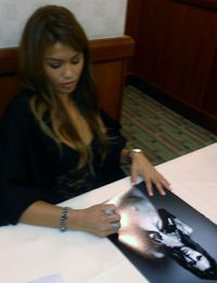 xxx porn media original xxx porn star charmane signed poster photo