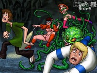 scooby doo porn cartoon reality scooby doo monster wet tight pussies ugly mon dooporn