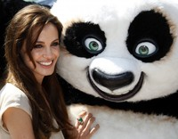 movie panda porn data kung panda crew cannes film festival hollywood actress angelina jolie turns
