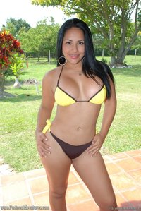 latina porn gallery latina boobs babe bares tits pool