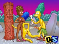 porn toons simpsons page