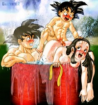 dragon ball z porn media dragon ball porn briefs chichi darkmatter son goten dragonball