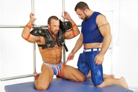 nasty porn nate karlton spencer reed bound jocks nasty pig jockstrap gay porn teasing torture bondage scruffy muscle bear masculine rough punching abs blowjob sucking rimming blindfold muscular football gear athletic hot
