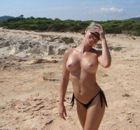 beach porn photos perky nice tits girlfriend photo beach gfv