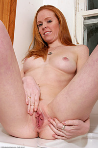porn model media original atk scarlet hairsute redhead porn model