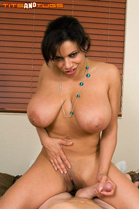 porn tit galleries tits tugs busty latina gets tit creampie