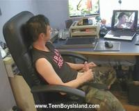 movie porn post aada beautiful twink boy gets extremely horny watching gay porn movie