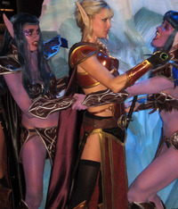 elf porn blizzcon cosplay blood elf night babes forums