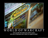 world of warcraft porn humor motivational january poster warcraft porn world