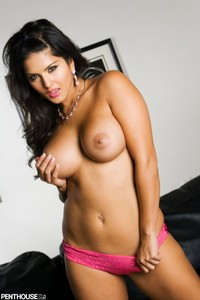 nude porn star imager sunny leone topless naked nude pink panties penthouse original dailyloaf pornstar thriving wild west adult industry nsfw