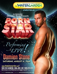 porn search star pornstar smallposter damienstone christian owen cranking bath house thermostat cocked damien stone
