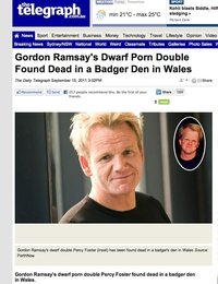 found porn pictures gordon ramsay dwarf porn double found dca funny