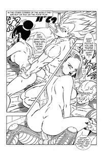 comic porn media original dragonball porn dragon ball son android mai comic emperor vegeta chichi