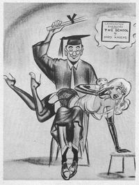 1950 s porn photos untitled bill ward spanking pics from