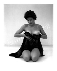 1950 s porn photos media original helen kneels cups bosoms veil nude