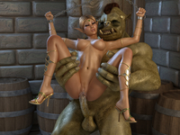3d monster pics porn crazy monster porn girl tight pussy rammed