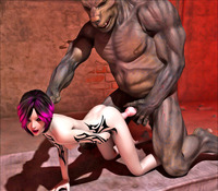 3d porn gallery dmonstersex scj galleries awesome porn gallery featuring cute girl ravaged ugly monster