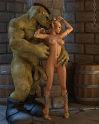 3d porn gallery dsexpleasure scj galleries giant evil orc fingering his chained slaves tiny pussy porn pics