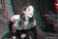 3d porno stereoscopic bianca anaglyph entry
