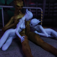 3d sex porn monster beautiful aliens alien porn suck lollipop