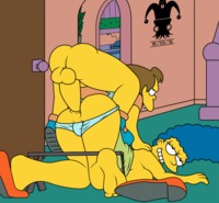 toon porn simpsons porn games