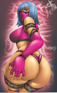 big ass mileena mortal kombat ass adrianomediano art