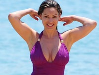 big boobs nipples photo kelly brook nipples brooks boobs hard razorburned crotch bikini