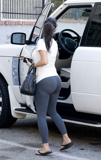 big butt and ass kim spandex butt car lycra ass all