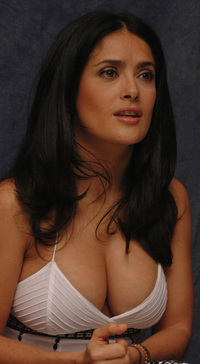 big fucking tits pics thinking about titty fucking salma hayeks modesty hayek huge tits happy tuesday