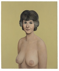 big nude people lot bea arthur naked john currin painting auction