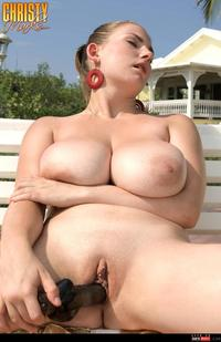big tits bbw pictures wmimg christy marks naturals tits christymarks bbw outdoor solo shaved