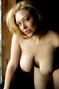 big tits with nipples pics blonde leaning over large breasts hard nipples