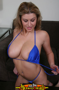 bikini porn pictures media original sara stone porn star massive feathers jubes knockers blue string bikini model