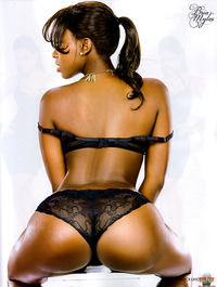 black ass pics photos bria myles showing off ass black lacey lingerie
