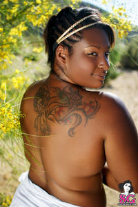 black bbw nude pics photo large hot tattooed black benevolent young girl nude nature bbw girls