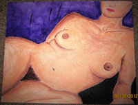 black female nude photos fullxfull listing original acrylic painting