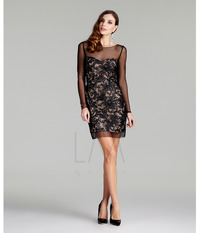 black nude pic black nude shear cocktail dress larger fall collection