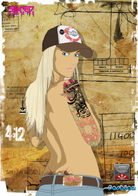 blond girl gallery pre blond girl tattoo siked key tattoos