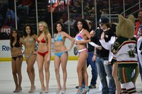 blondes in bikinis pics dsc houston aeros present leggy blondes