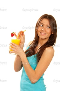 brunette woman pics depositphotos healthy lifestyle brunette woman drink orange juice cocktail stock photo