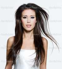 brunette woman pics depositphotos brunette woman beautiful long brown hairs stock photo