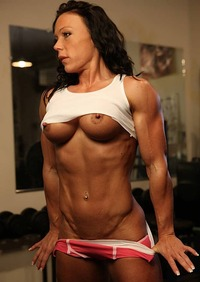 busty naked ladies muscle athlete naked russian woman