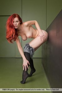 busty redhead pictures picpost thmbs busty redhead babe nice legs pics