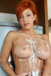busty redhead pictures hosted gals ashley robbins busty red creams herself pic nude celebs redhead creamed