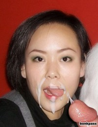 cum face porn pics chinese girl face cum chubby housewive got lot