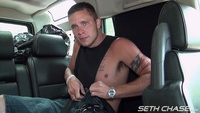 cum swallowing seth chase back seat cum swallowing