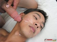 dick cum photos asian boy nation cock cumfest sexy uncut gets face cum from hot twinks