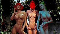 erotic art beauties dmonstersex scj galleries celestial beauties exposed animated erotic art