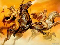 erotic female pics paint boris vallejo wallpaper